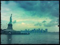 Titel: NY - Lighting up, Kunstenaar: Pamplemood - Urban