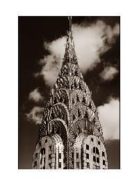 Titel: Chrysler Building New York City, Kunstenaar: Teun Voeten - New York