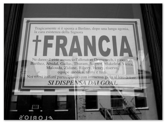 Titel: NY - Ciao Francia, Kunstenaar: Pamplemood - Urban