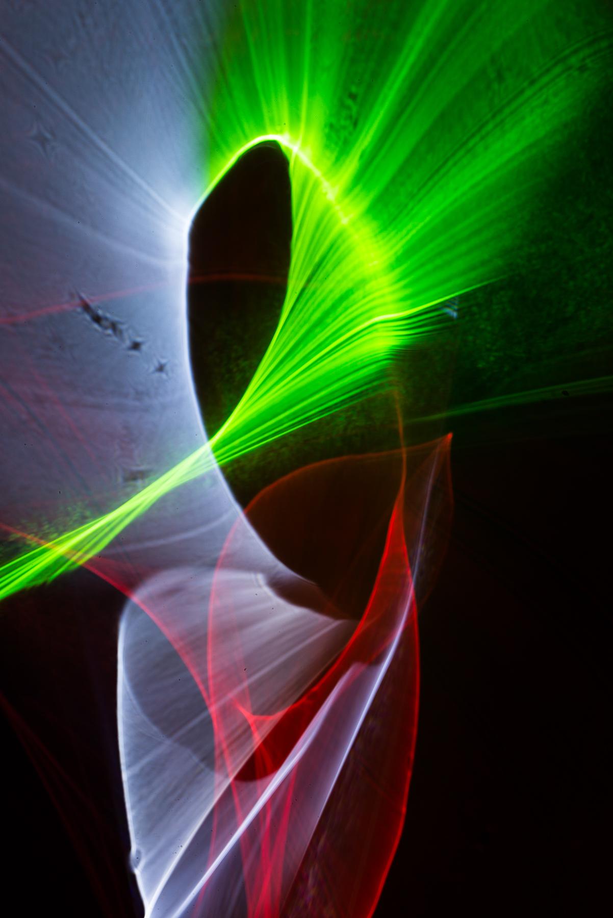 Titel: Refractography 7, Kunstenaar: Romain Millet - Refractography
