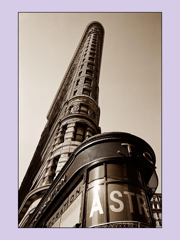 Titel: Flat Iron New York City, Kunstenaar: Teun Voeten - New York
