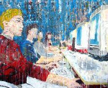 Titel: Cyberspace, Kunstenaar: DEZ, Sylvain
