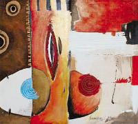 Titre: Composition 8, Artiste: Norman Faber,