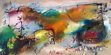 Titel: Ardennes, Kunstenaar: ZALANS, Ilgvars