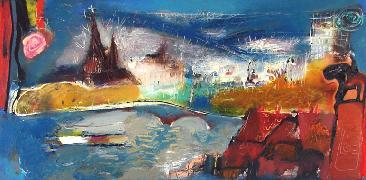 Titre: Liège's Cityscape, Artiste: ZALANS, Ilgvars