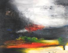 Titel: Paysage n�8, Kunstenaar: BLONDEL, Denis