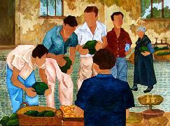 Titel: Mi familia, Kunstenaar: Sanjos�, Elena