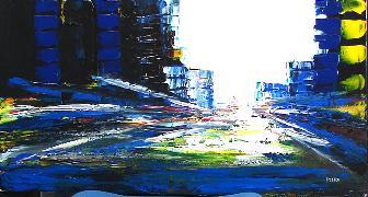 Titel: NYC 12, Kunstenaar: STIKA,