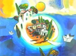 Titel: Island, Kunstenaar: Marasovic, Nenad