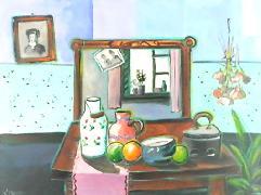 Titel: Old mirror, Kunstenaar: Marasovic, Nenad
