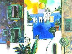Titel: To the harbour, Kunstenaar: Marasovic, Nenad