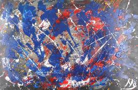 Titel: Asteroid Belt, Kunstenaar: Celestri, Monique