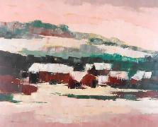 Titel: Hiver en Ardenne, Kunstenaar: Remy, Madeleine