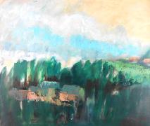 Titel: Ferme au bois, Kunstenaar: Remy, Madeleine