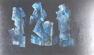 Titel: Les vierges noires, Kunstenaar: Damster, Pierre