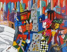 Titel: New York New York, Kunstenaar: Tokarz, Monika