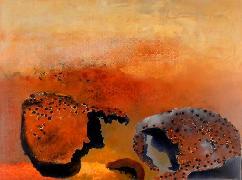 Titel: Kalahari 1, Kunstenaar: Loher, Angelika