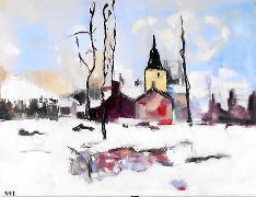 Titel: Paysage du nord, Kunstenaar: Smit, Christian