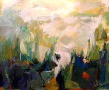 Titel: Paysage, Kunstenaar: Collienne, Ren�