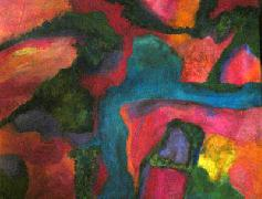 Titel: Aerial Landscape, Kunstenaar: Johnson, Sandee Shaffer