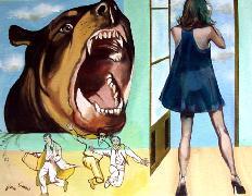 Titel: Attention danger, Kunstenaar: Van Soens, Eric
