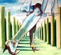 Titel: Jambes de femme, Kunstenaar: Van Soens, Eric