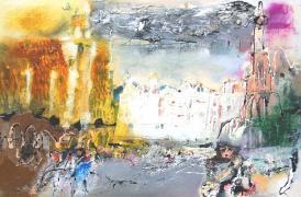 Titre: Brussels, Artiste: ZALANS, Ilgvars