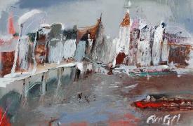 Titel: Amstel, Kunstenaar: ZALANS, Ilgvars