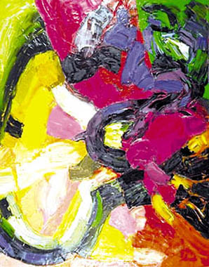 Titel: Ombre et lumière, Kunstenaar: Nicolas Arati