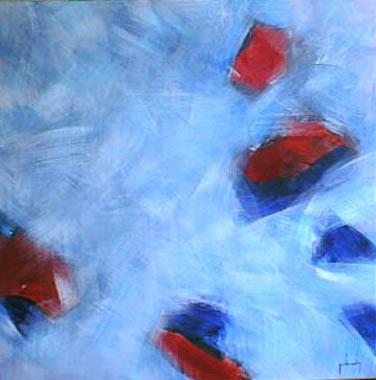 Titel: 186 Turbulence, Kunstenaar: Yves CHAMLY