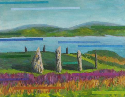 Titel: The Ring of Brodgar, Kunstenaar: Karin Hintz