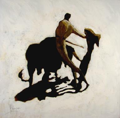 Titel: Torero 1, Kunstenaar: Dehareng, Marc