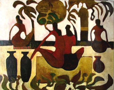 Titel: Hammam 2, Kunstenaar: Marc Dehareng