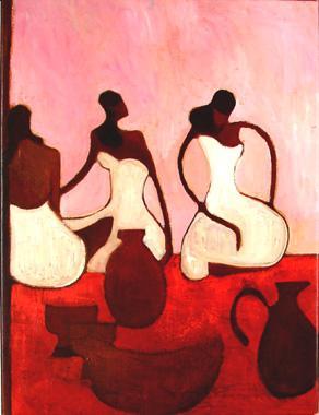 Titel: Hamman rouge 3, Kunstenaar: Dehareng, Marc