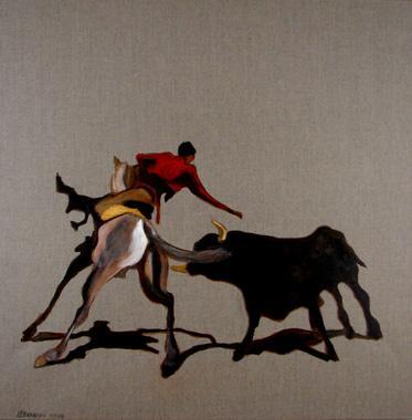 Titel: Torero 2, Kunstenaar: Dehareng, Marc