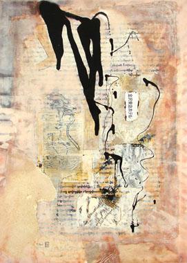 Titel: Calligraphie 13, Kunstenaar: Paul, Monique