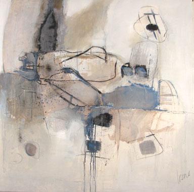 Titel: Compositie 09, Kunstenaar: Van den bos, Irene