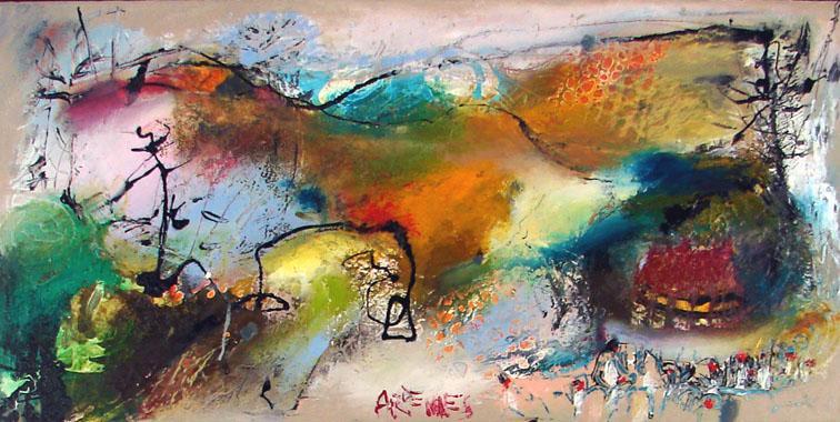 Titel: Ardennes, Kunstenaar: Ilgvars ZALANS