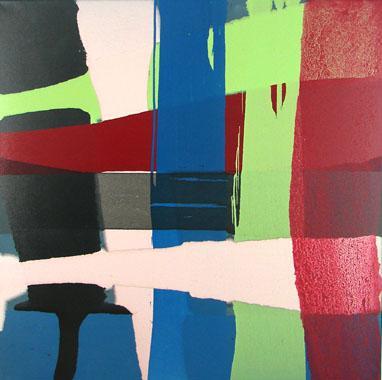 Titel: Dutchscape 11, Kunstenaar: Lenders, Hennie