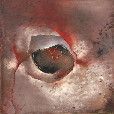 Titel: Derviche 21, Kunstenaar: Geneviève Nicolas