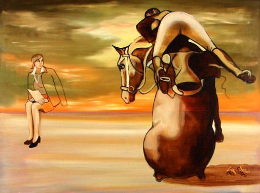 Titel: La chute, Kunstenaar: Eric Van Soens