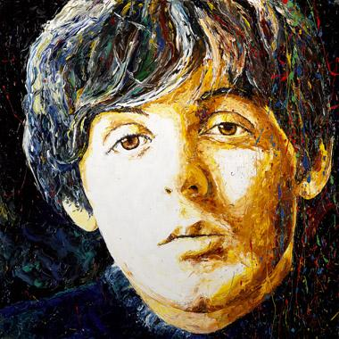 Titre: Paul Mc Cartney, Artiste: Maes, Gilles