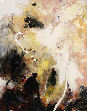 Titel: La rencontre, Kunstenaar: KRAUSE, Wolfgang