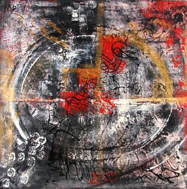 Titel: Po�sie interrompue, Kunstenaar: Celestri, Monique