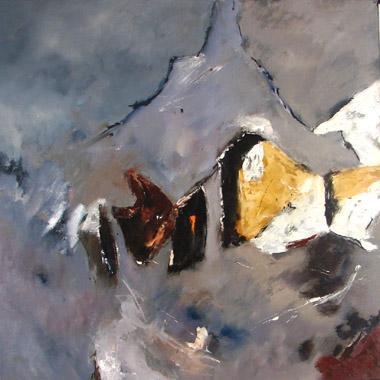 Titre: Abstract 8, Artiste: Ledent, Pol
