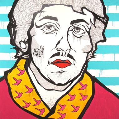 Titel: Rocky, Kunstenaar: Murillo Perdomo, Manuel Francisco