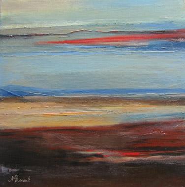 Titel: Les rives Cerleennes, Kunstenaar: RENAULT, Jean-Marie