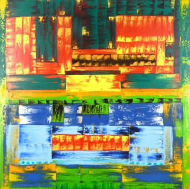 Titel: Key to ourselves, Kunstenaar: Makandra,