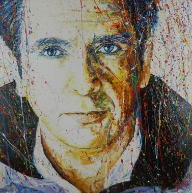 Titel: Peter Gabriel, Kunstenaar: Maes, Gilles