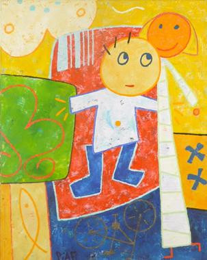 Titel: Thaï chi chuan, Kunstenaar:  Piaf